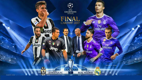 Link sopcast Real vs Juventus 1h45 ngày 04/06/2017 chung kết Cup C1 UEFA Champions League